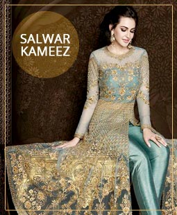Indian Salwar Kameez, Designer Churidar Suits, Online Salwar Kameez