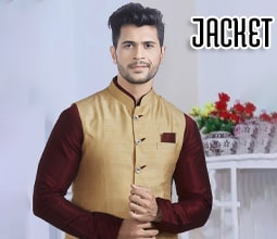 Buy Men`s Jackets, Men Jackets Online India, Indian Wedding Saree