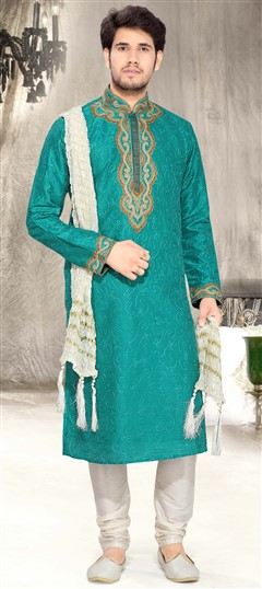 EID Collection, Kurta Pyjamas, Art Dupion Silk