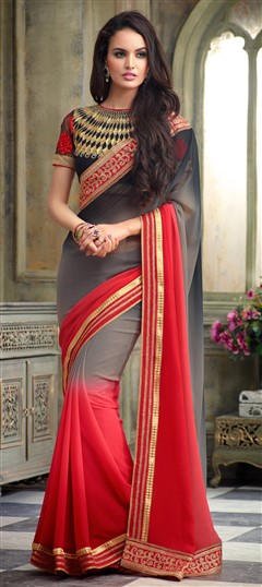 EMBROIDERED SAREES