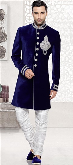 Indo western menswear indo western suits sherwani for men for Indo western wedding dress for men