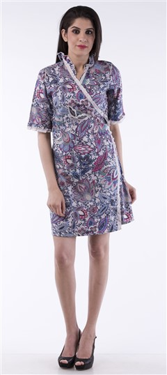 650007, dress, Cotton, Printed, Multicolor Color Family