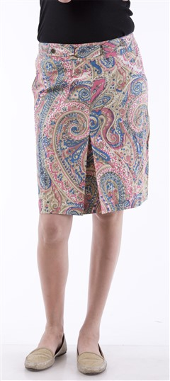 650039, skirt, Cotton, Printed, Multicolor Color Family