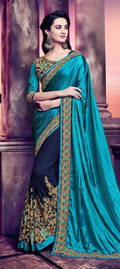Crushed Silk Sarees