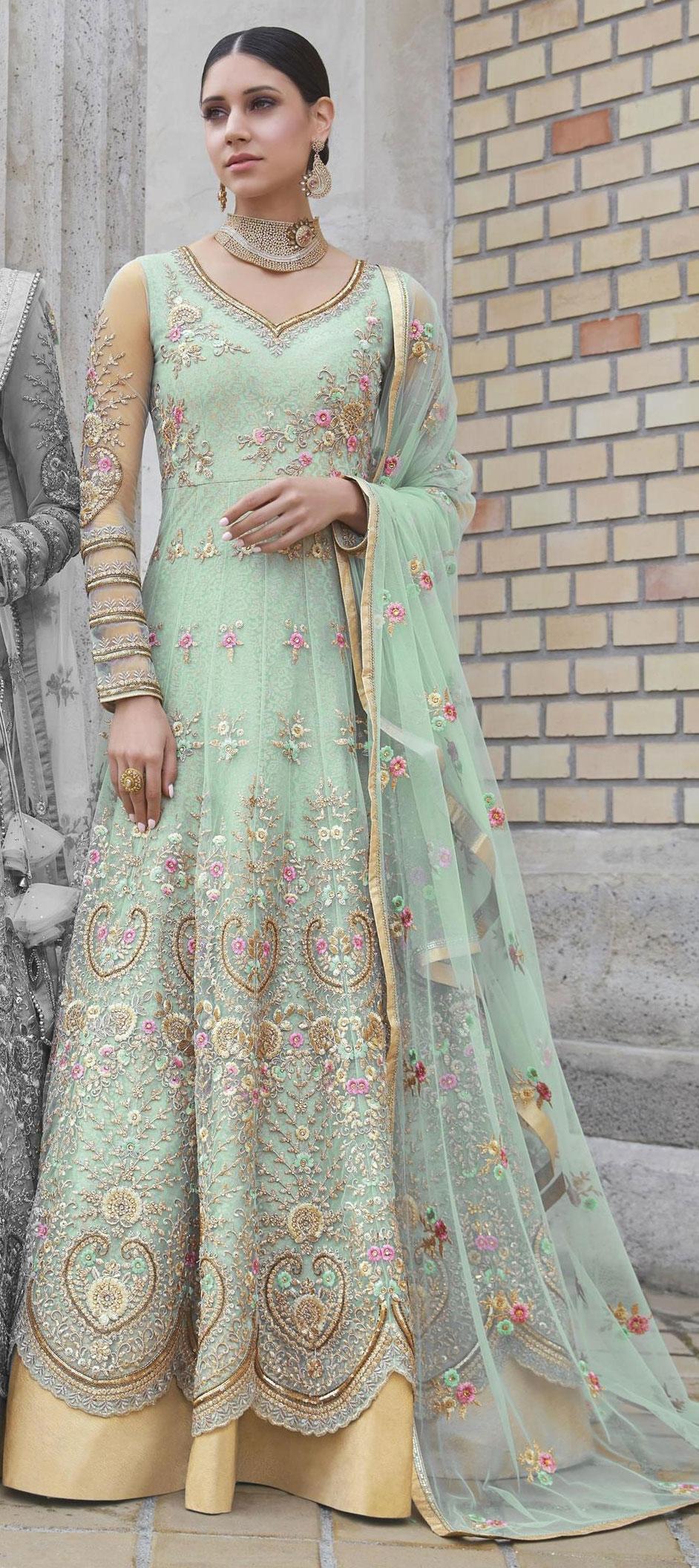 Buy Designer Anarkali Salwar Kameez