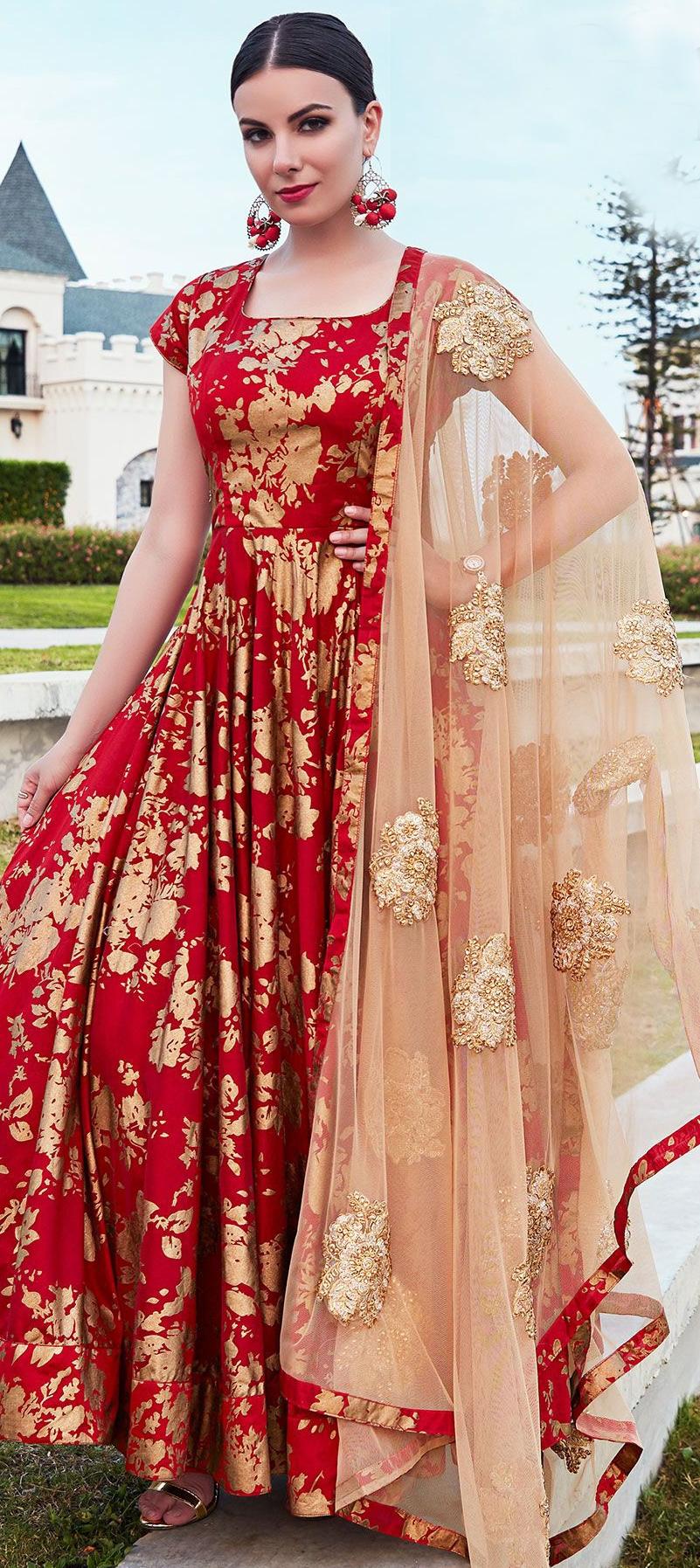 Buy Anarkali Salwar Kameez Online