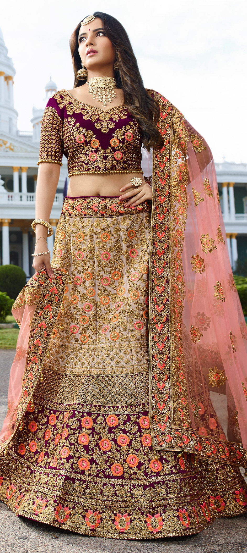 27cfb5861f0d Most Beautiful Wedding Dress Indian | Saddha