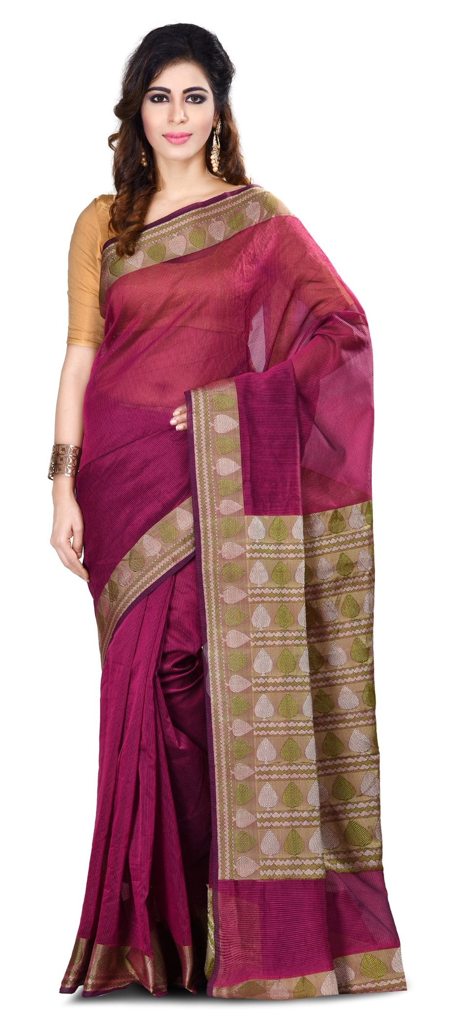 768756: Pink and Majenta color family Party Wear Sarees with ...