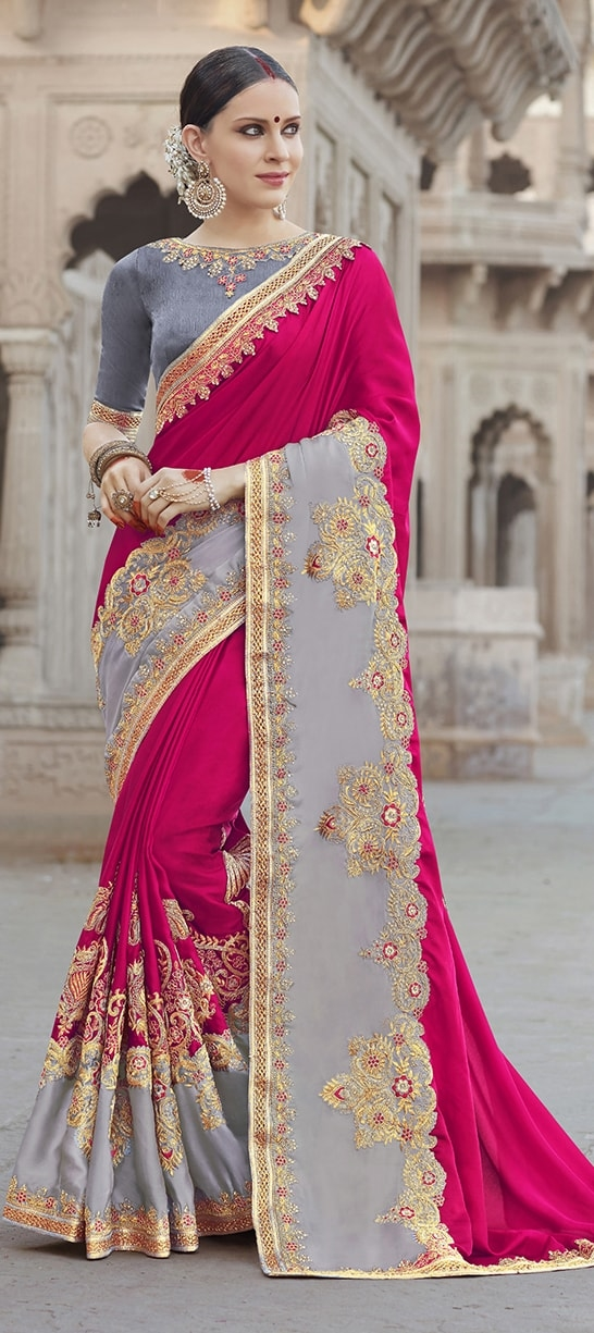 embroidery sarees online
