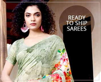 ready to ship sarees